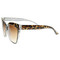 High brow oversize cat eye pointed tip fashion sunglasses 8521 | zerouv