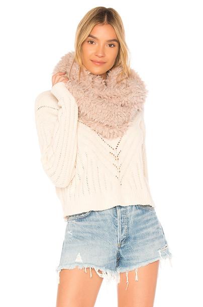 Michael Stars scarf blush