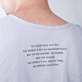shirt tee shirt graphic tee white teeth saying quote on it