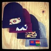 hat,beanie,tribal pattern,leopard print