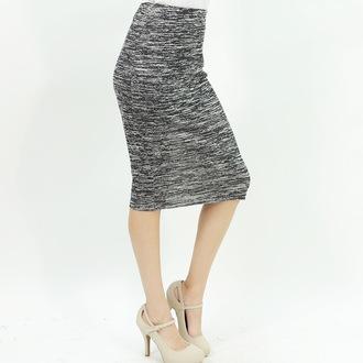 pencil skirt trendy office outfits midi skirt grey skirt