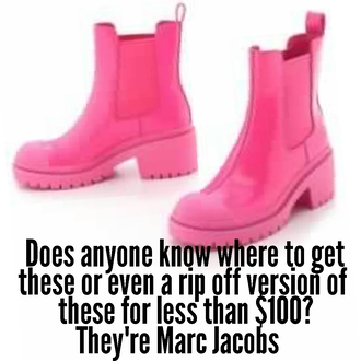 shoes pink hot pink marc jacobs boots heels kawaii cute girly adorable rad