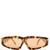 Angular frame sunglasses