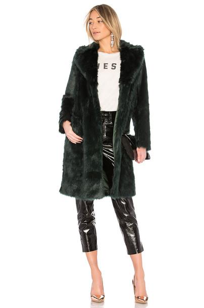 EAVES coat green