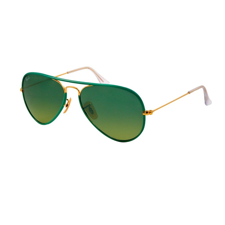 Ban 3025jm 001/3m green 3025jm aviator full colour aviator sunglasses lens: ray