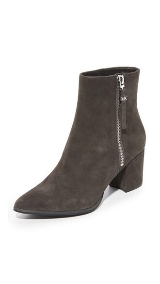 booties charcoal shoes