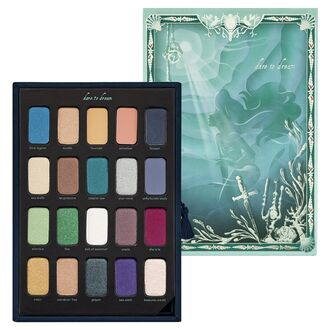 nail polish disney eye makeup eye shadow the little mermaid makeup palette