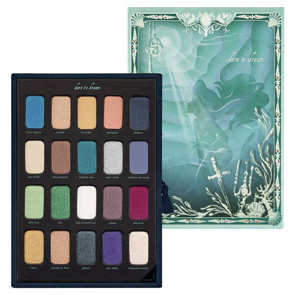 ariel disney ariel the little mermaid nail polish eye makeup eyeshadow