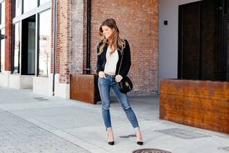 brighton the day blog | dallas fashion blog blogger jacket leggings jeans bag tank top shoes