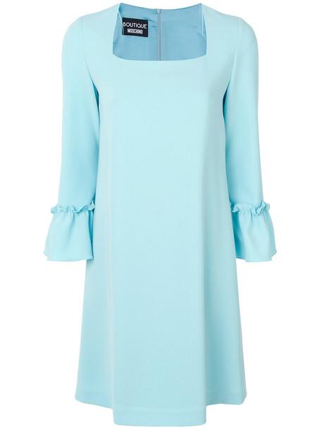 BOUTIQUE MOSCHINO dress women blue