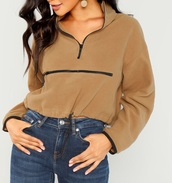 sweater,girly,girl,girly wishlist,sweatshirt,zip,nude,cropped,cropped sweater,crop