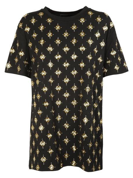 Balmain t-shirt shirt t-shirt embellished top