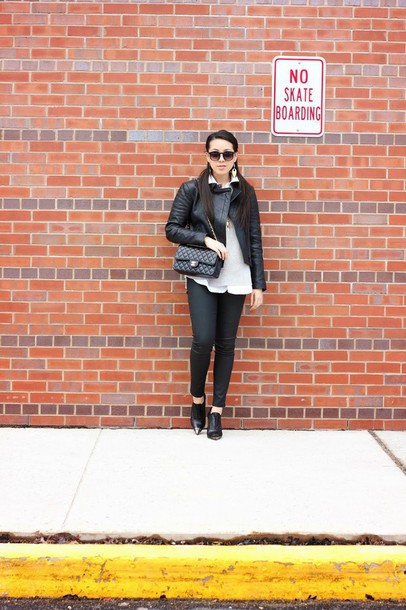 refined couture blogger jacket shorts sweater shirt shoes bag sunglasses jewels