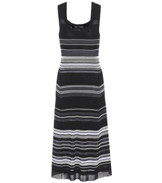 Proenza Schouler dress cotton knit black