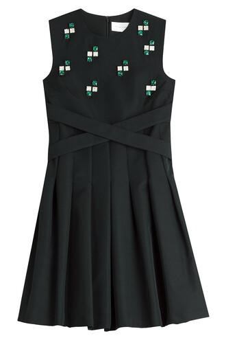 dress mini dress mini embellished black