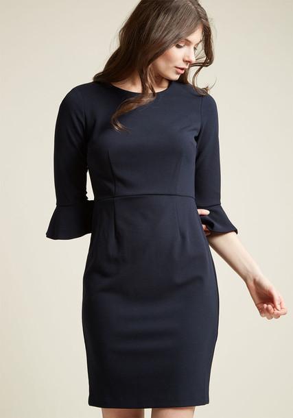 D8983M dress fancy navy blue