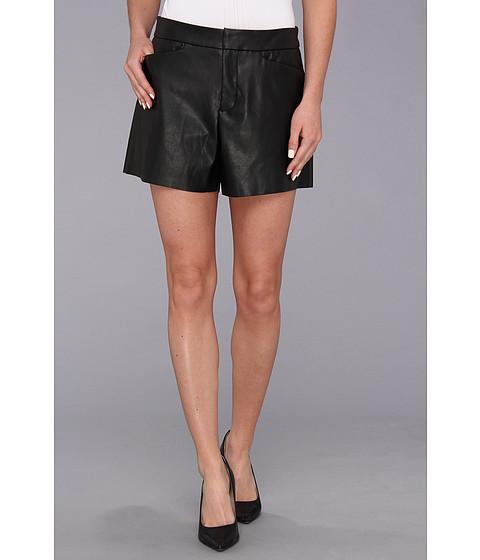 Calvin Klein Faux Leather Short Black - Zappos.com Free Shipping BOTH Ways