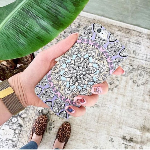 phone cover yeah bunny boho cute iphone case cover tapestry mandala