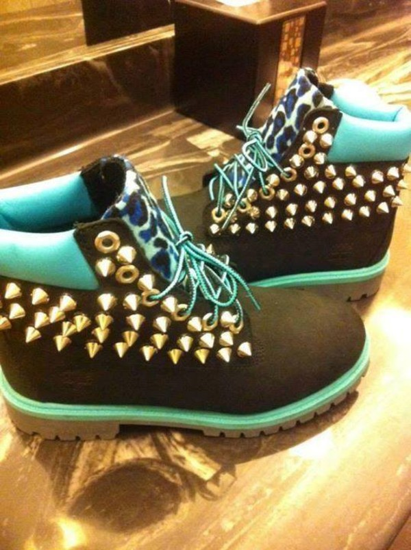 shoes spikes timberlands custom timberlands timberland boots shoes timberlands boots
