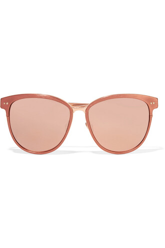 sunglasses mirrored sunglasses copper