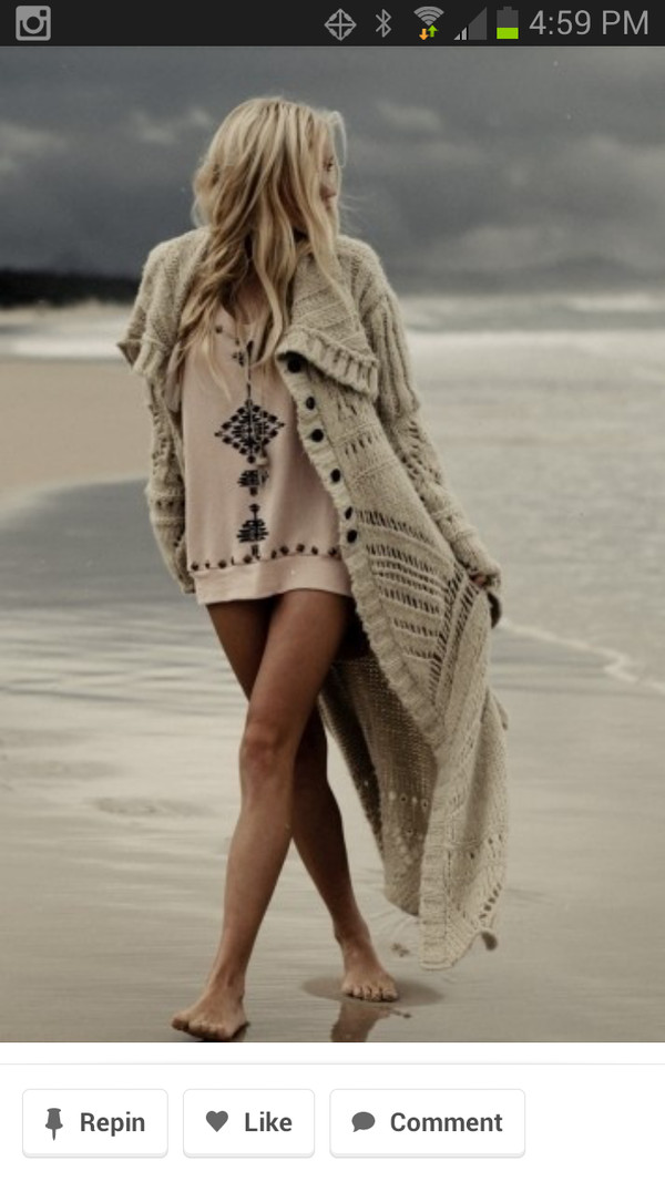 jacket knitted sweater maxi cardigan