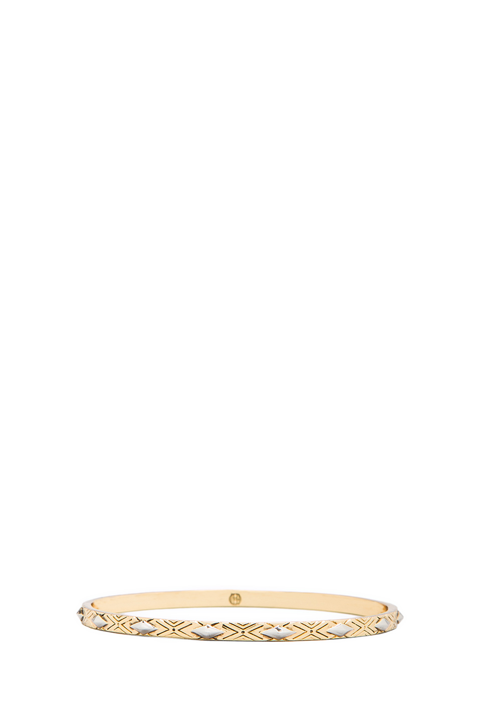 House of Harlow Marquis Stack Bangles in Gold | REVOLVE
