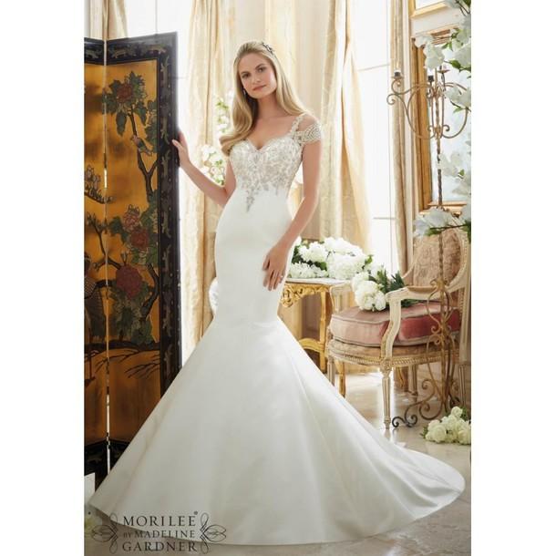 dress, white, wedding, watches online shopping, bridal gown, mori ...