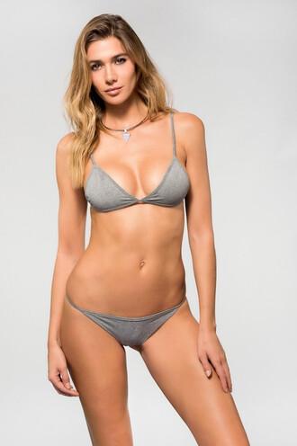 top bikini top dbrie swim grey bikiniluxe