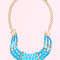 Blue layered necklace | uoionline.com: women's clothing boutique