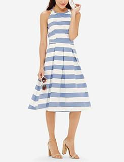 27d5863be72e Striped Midi Dress
