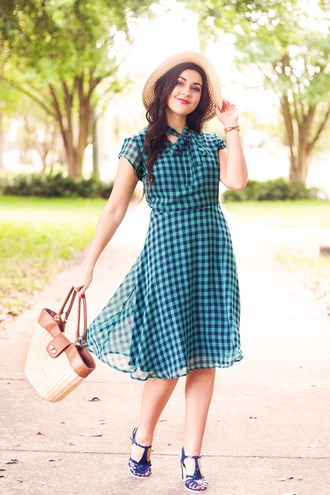 a walk in the park blogger dress shoes hat bag jewels
