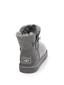 UGG Australia - Bailey Jeweled Suede Short Boots - Saks Fifth Avenue Mobile