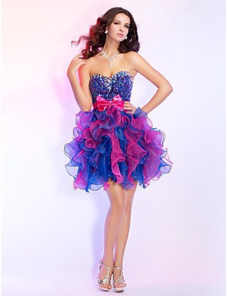 dress prom dress blue purple blue dress purple dress homecoming dress