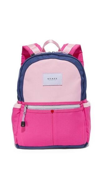 mini backpack rose navy bag