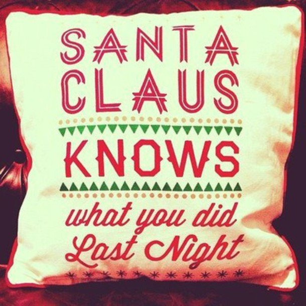 Jewels Santa Claus Pillow Pretty Holiday Home Decor