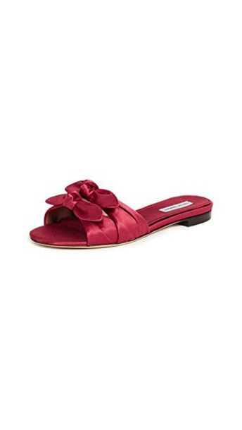 tabitha simmons sandals red shoes