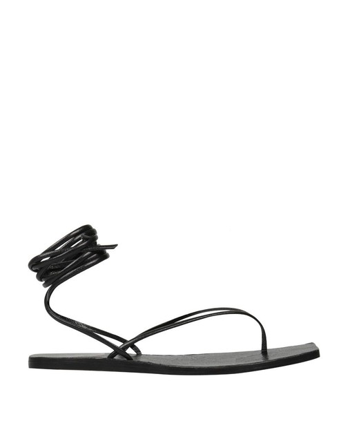 Rick Owens sandals leather sandals leather shoes