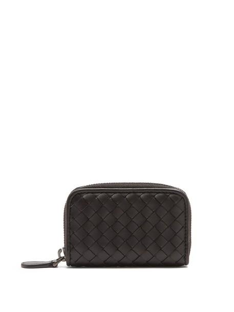 Bottega Veneta purse leather black bag