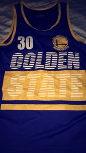 tank top,stephen curry golden state warriors blue yellow and white