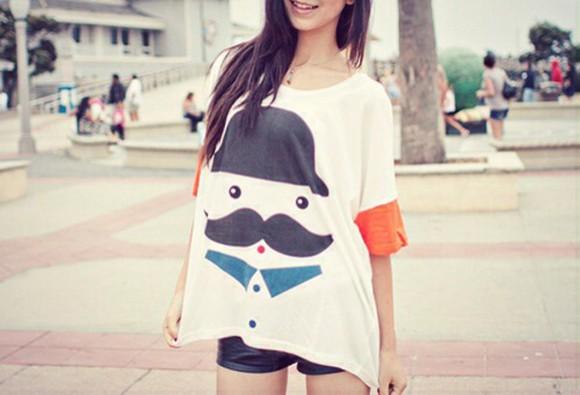 shirt oversized t-shirt kfashion ulzzang