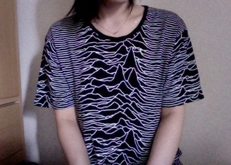 shirt pale fashion sweater joy division grunge soft grunge t-shirt band t-shirt cute tumblr tumblr shirt skirt joy division cool loud beautiful pretty lost without you love