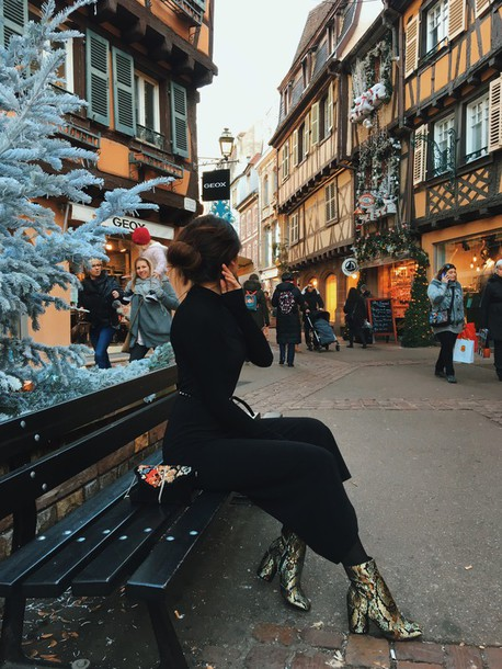 dress tumblr black dress knitwear knitted dress maxi dress long sleeves long  sleeve dress turtleneck dress 7ef28aecc