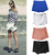 Bloggers FAV Women Shorts Black White Wrap Mini Skirts With Invisible Zipper O | eBay
