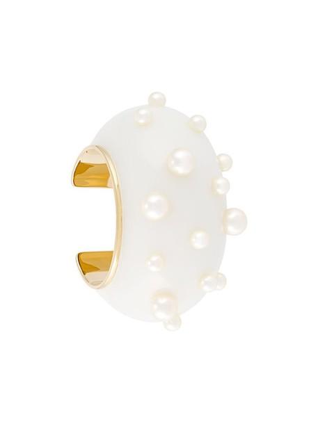 AURELIE BIDERMANN women gold white jewels