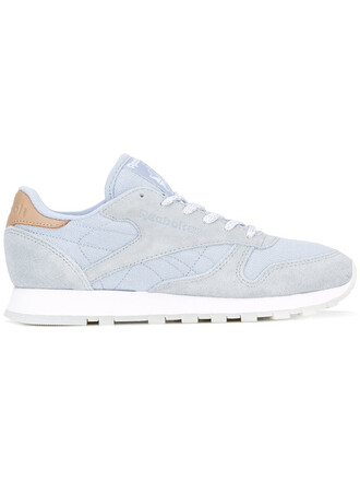 sea women classic sneakers leather cotton blue shoes