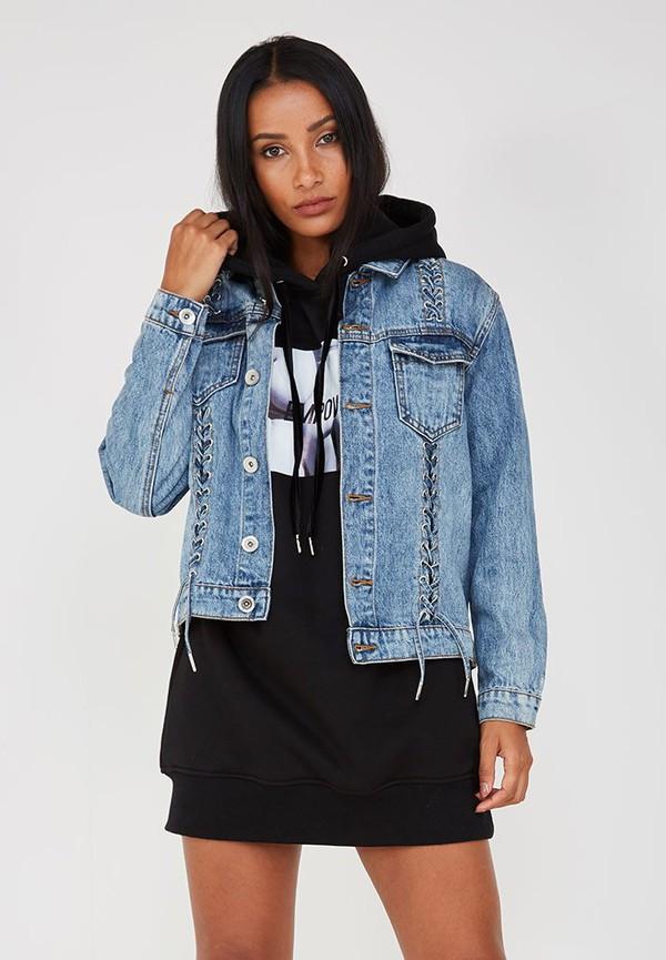 jacket denim blue maniere de voir