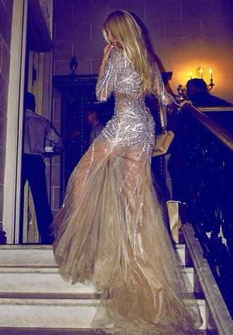 dress sherri hill jovani gold dress prom dress sequin dress tarik ediz haute couture evening dress gold long sleeve dress beaded dress ball gown dress gown