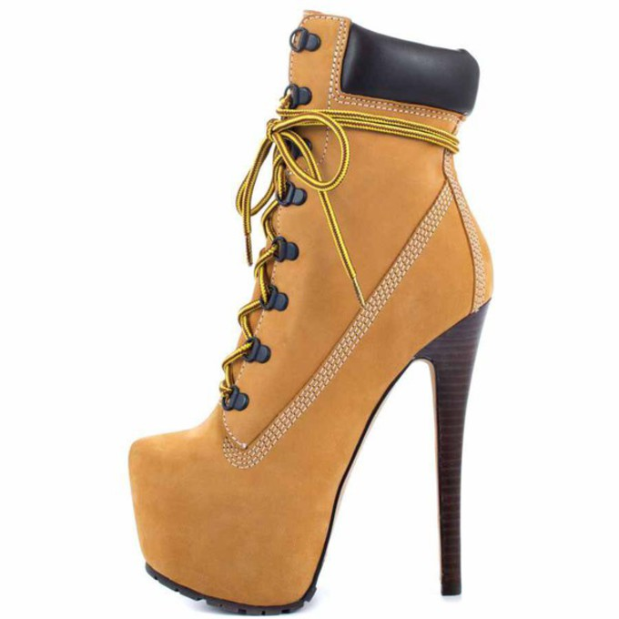 timberland high heels images