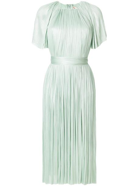 Maria Lucia Hohan dress women spandex silk green
