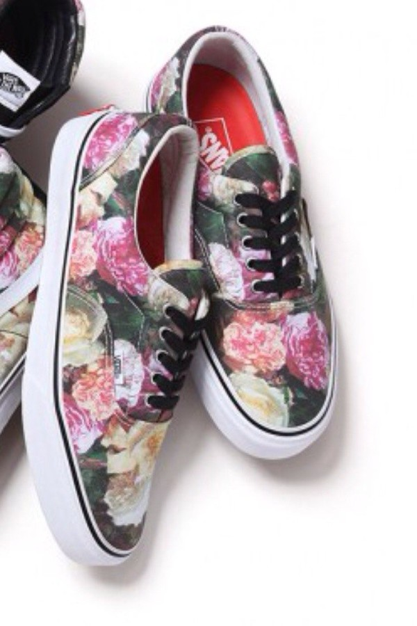 roses vans printed vans shoes